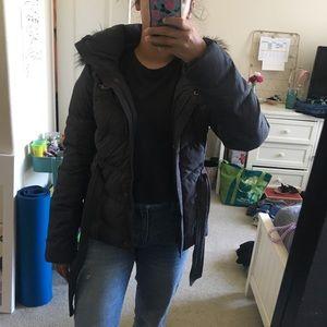HOLLISTER winter puffed jacket